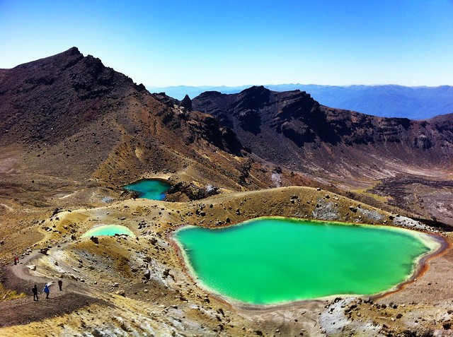 Dr Emerald Lakes, Tongariro