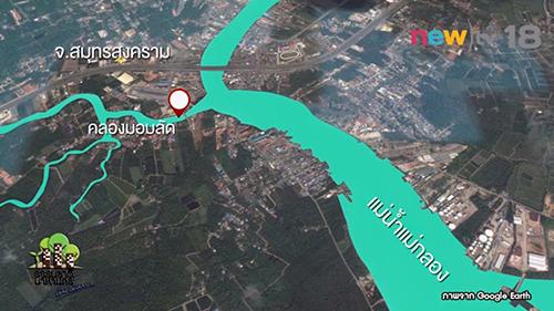 แผนที่เมืองสามน้ำ
