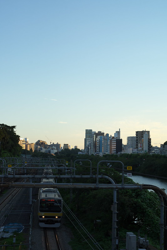 Tokyo Train Story 総武線 2016年8月26日