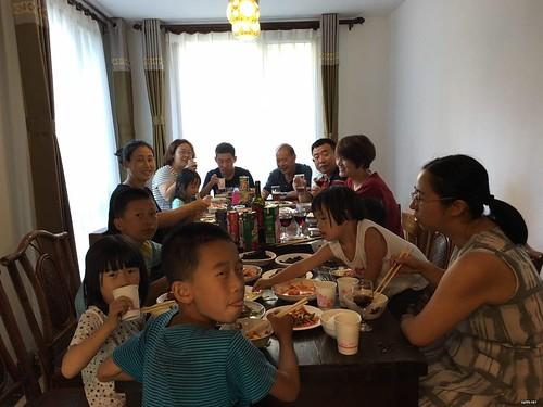 四位709律师家庭齐聚一堂,庆祝中秋节(2016)