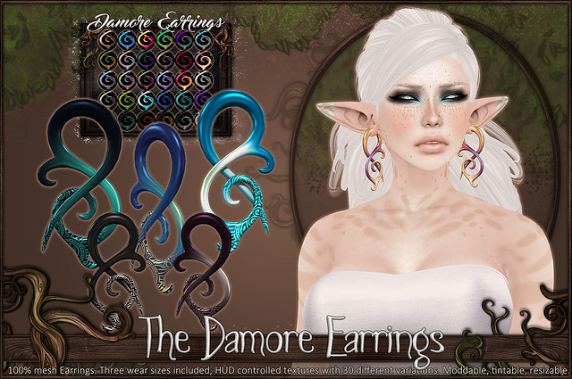 Damore Earrings