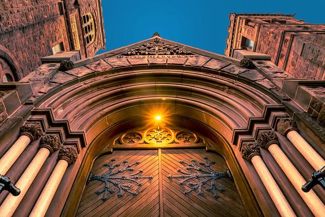 St. Paul's Church Entrance