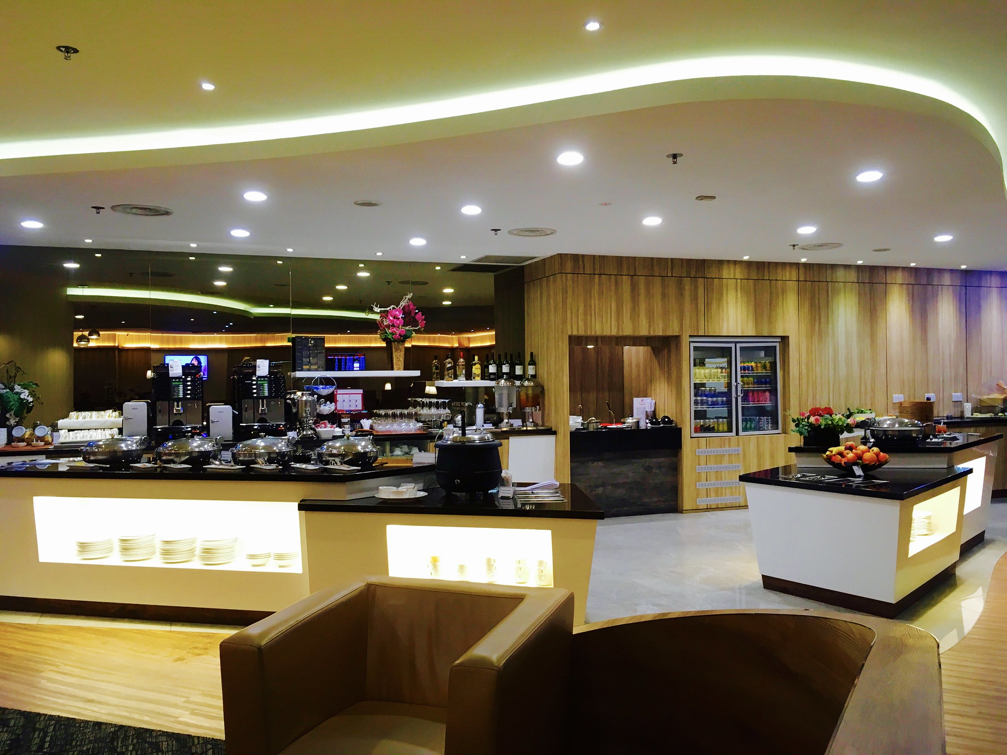 Singapore Changi Airport T1 SATS Premier Lounge