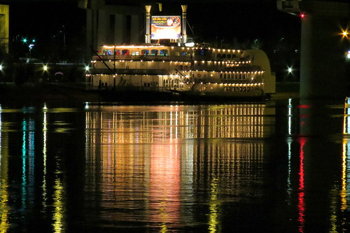 Southern Belle Riverboat at Night