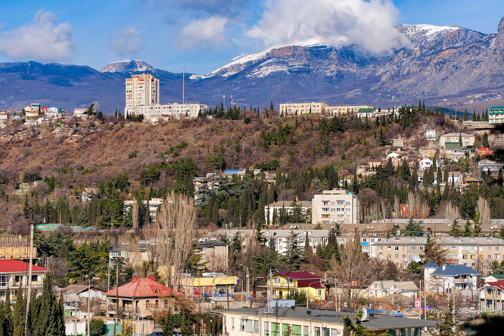 Cityscape in February