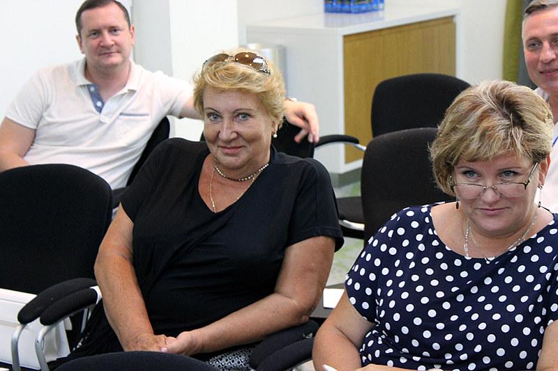 Тамара Близнюк (слева), эксперт медиаотрасли