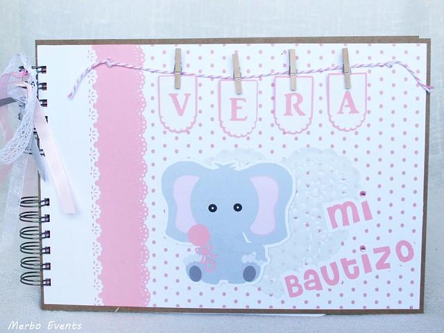 Bautizo de niña. Temática elefantita www.merboevents.com