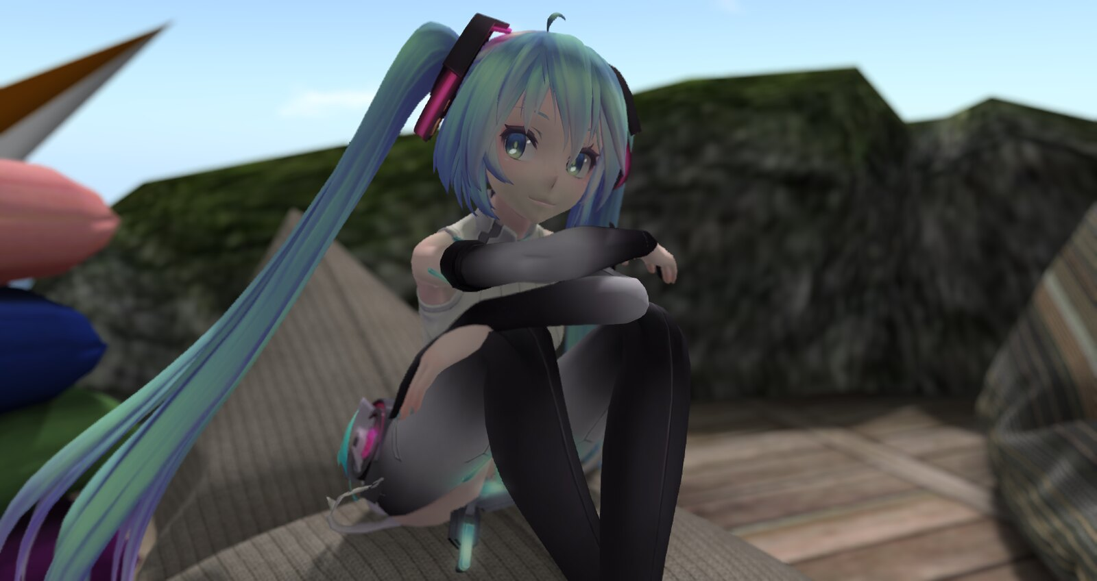 MMD Tda Miku in Secondlife