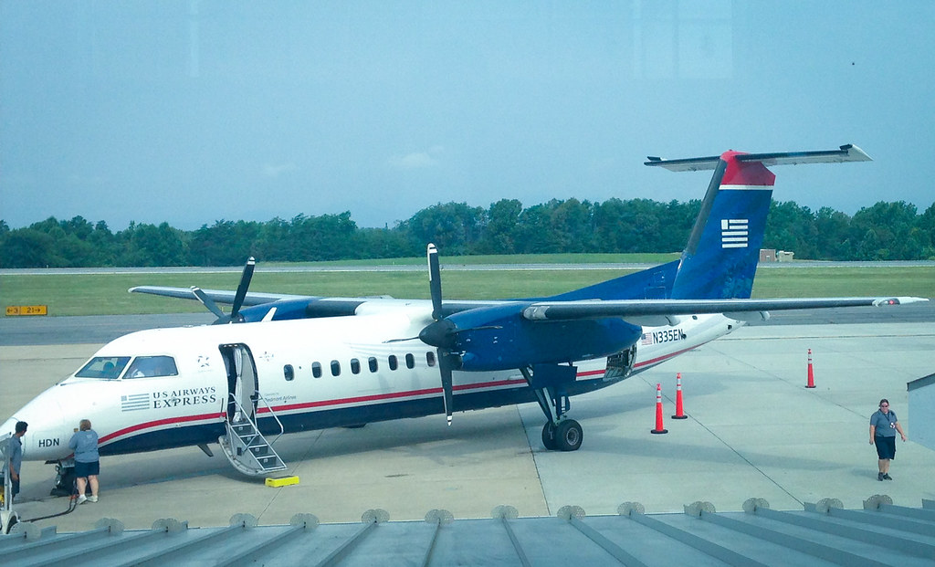 US Airways at Charlottesville Airport