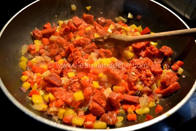 Lasagne aux Pommes de Terre au Chorizo © Ana Luthi Tous droits réservés 010
