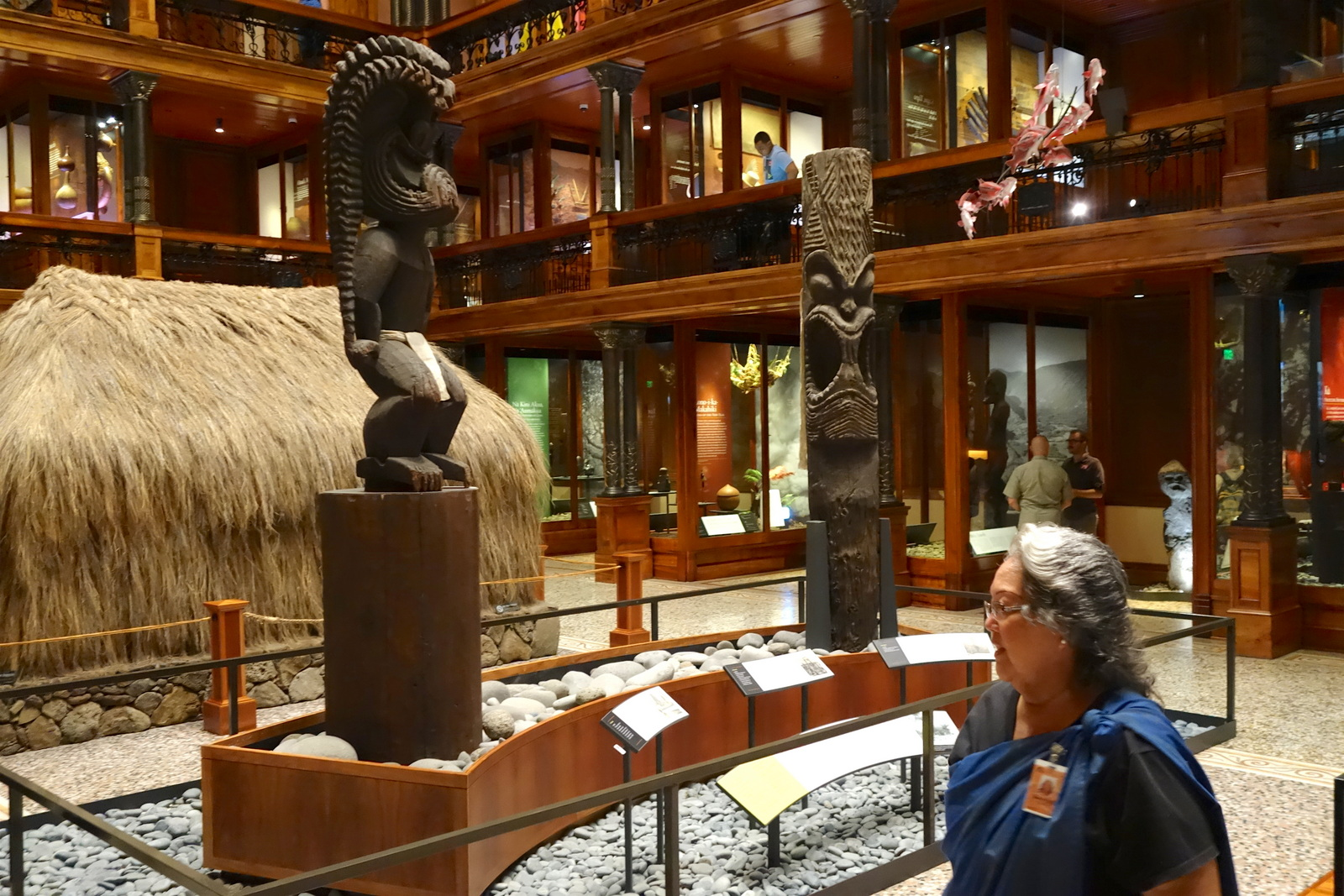Hawaiian Hall, Bishop Museum. From Digging Deeper into Hawaiian History on the Hawai'i Monarchs Tour