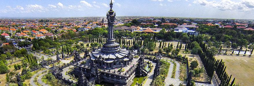 Bajra Sandhi Monument Denpasar Bali Indonesia