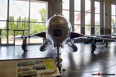 MM52-7458 3-05 - - Italian Air Force - Republic RF-84F Thunderflash - Italian Air Force Museum Vigna di Valle, Italy - 160614 - Steven Gray - IMG_0769_HDR