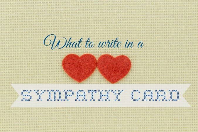 10 Beautiful Sentiments to Write in a Sympathy Card