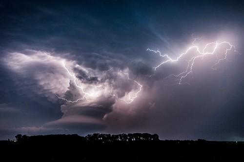 Copyright Camelia Czuchnicki - Clash of the storms
