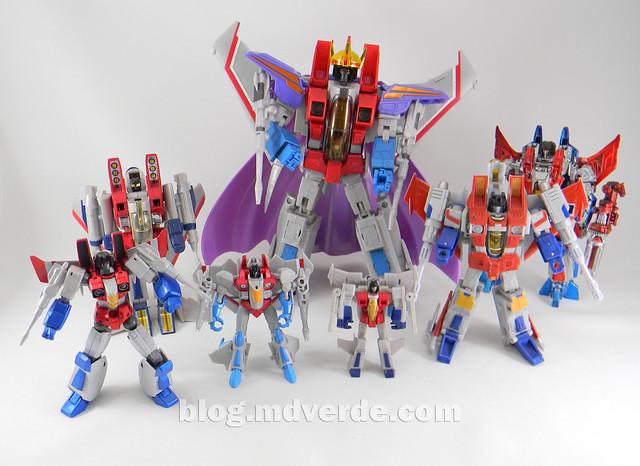 Transformers Starscream Legends - Transformers Generations Takara - modo robot vs otros Starscream