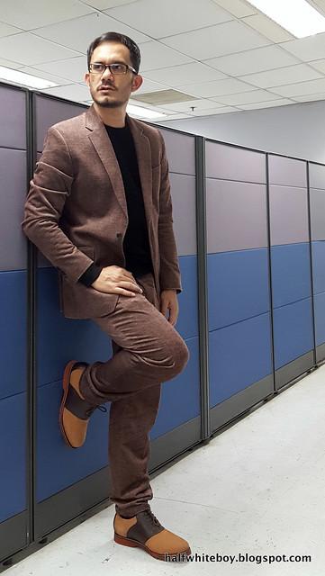 halfwhiteboy velvet suit and waffle sweater 07