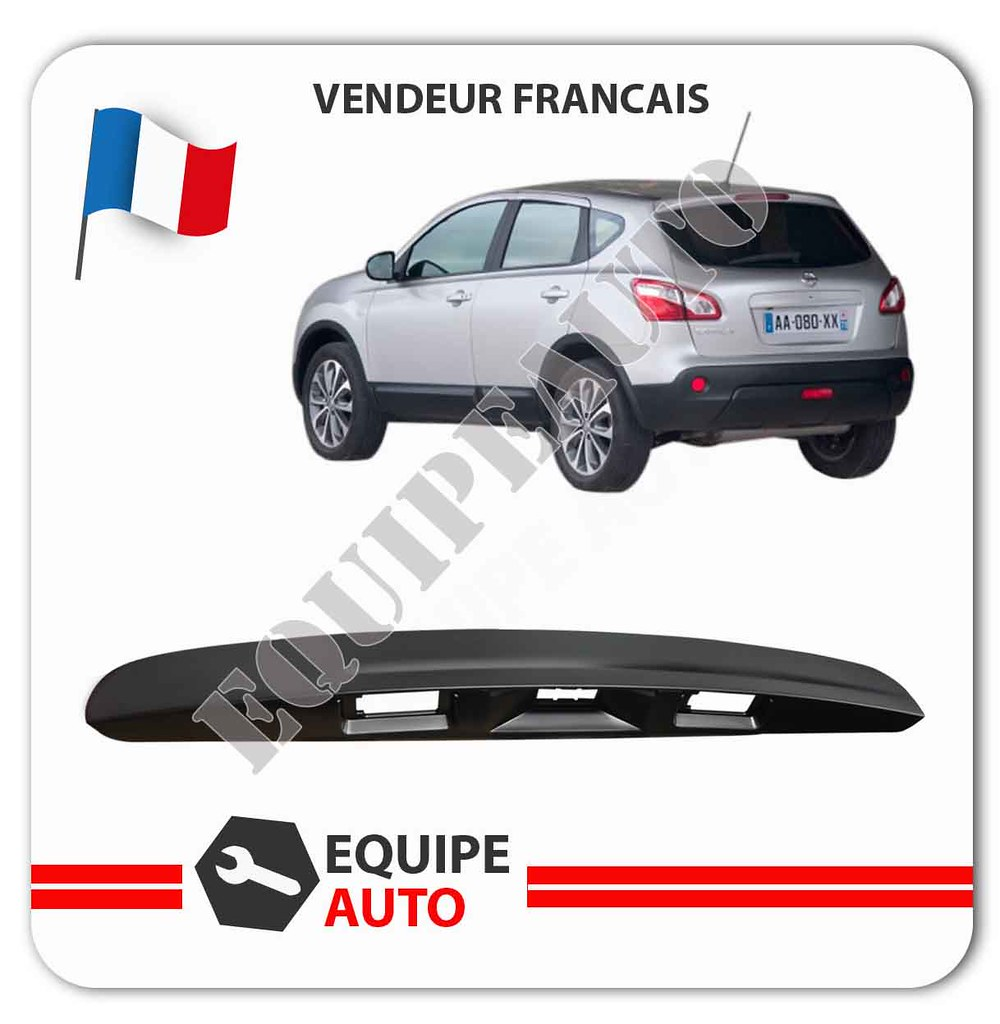 baguette poign e de coffre nissan qashqai et qashqai 2 sans camera 90810jd40h ebay. Black Bedroom Furniture Sets. Home Design Ideas