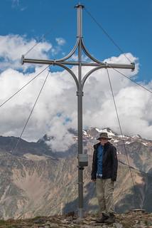 Gipfelkreuz am Tascheljöchl, 2772 m