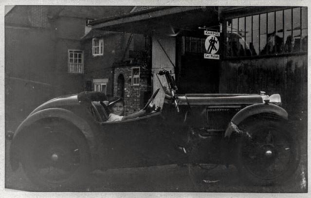 Randall's garage September 1935