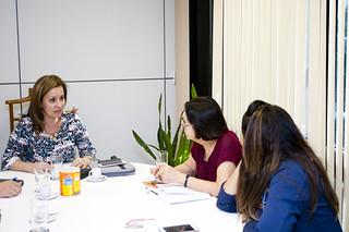 Reunião sobre Trabalho Infantil com a Secretária Maria Teresa (Brasília, 17/10/2016)