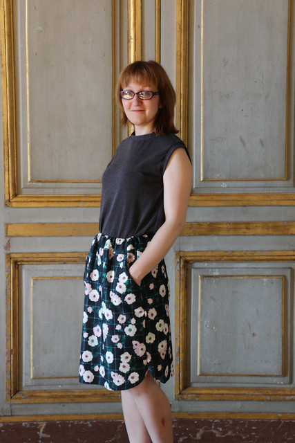 Fancy Tiger Craft Adventure Tank & Marilla Walker Ilsley Skirt, at the Château de Maisons, Maisons-Laffitte
