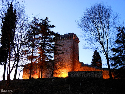 Romeo Montague's Castle by night