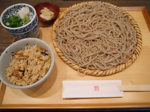 蕎麦 髙田   ざるそば お昼セット