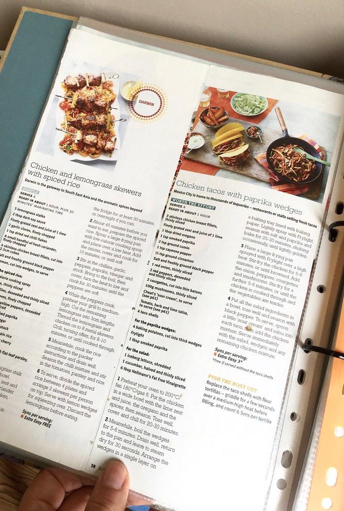 how I organise my recipes 4
