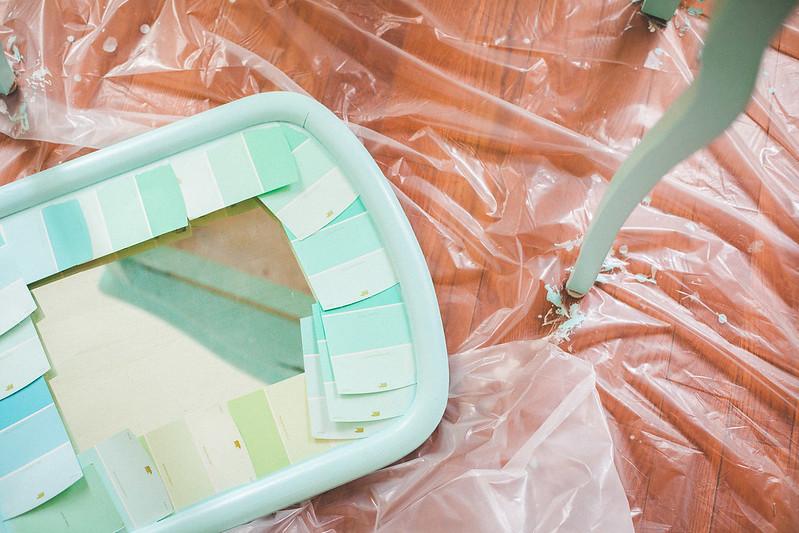 DIY vanity repaint