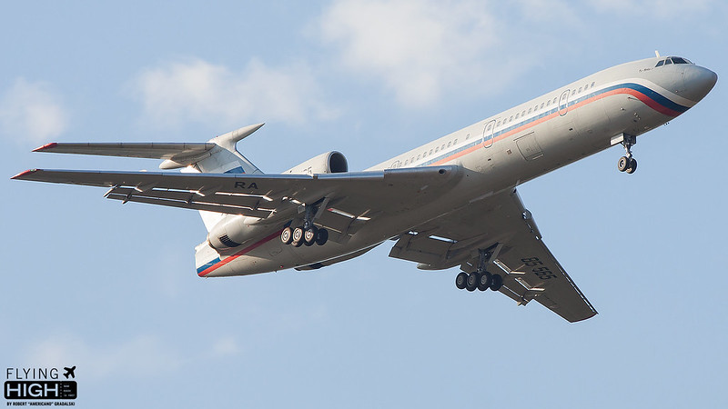 Russia Ministry of Internal Afairs TU154B2