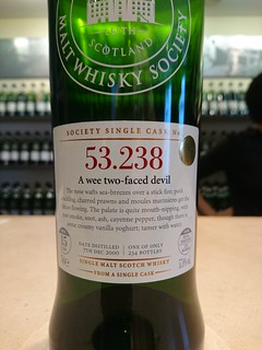 SMWS 53.238 - A wee two-faced devil