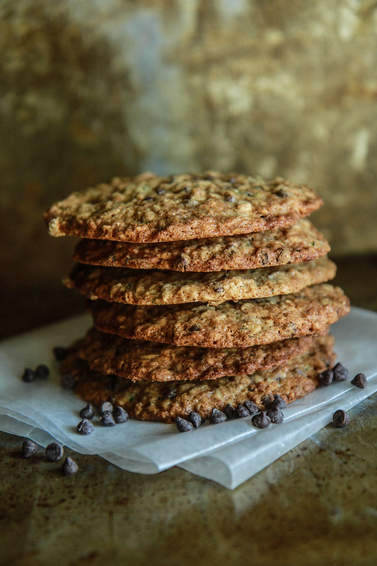 Zucchini Chocolate Chip Cookies- vegan and gluten free from heatherchristo.com