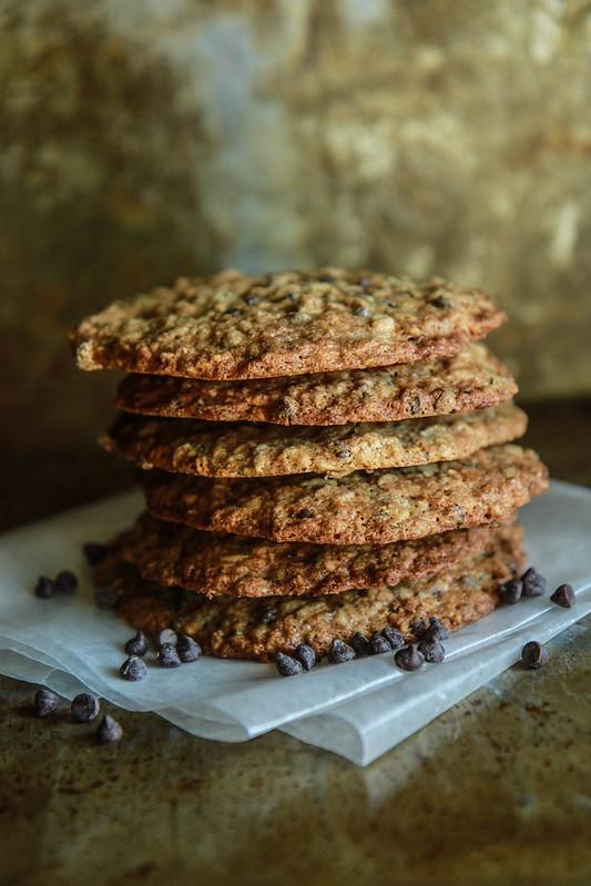 Zucchini Chocolate Chip Cookies- vegan and gluten free from heatherchristo.com
