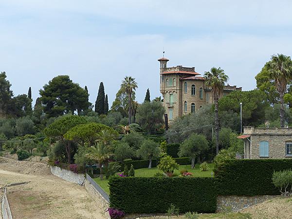 une autre belle villa de Bordighera