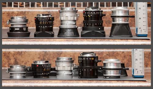 Rangefinder lenses.