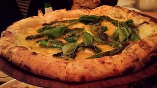 Asparagus Pizza at Gigi's