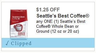 Seattle's Best Coffee Coupons!