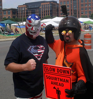 SQUIRTMAN @ Red White and Boom - July 3rd 2012 - Columbus Ohio | by rbatina