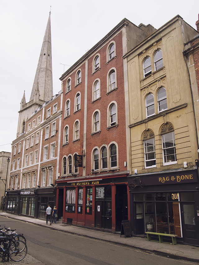 being little: bristol city guide - st nicholas street architecture