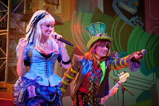 Mad T Party Band: Alice and The Mad Hatter | by armadillo444
