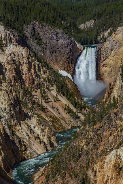 Artist Point: Yellowstone National Park
