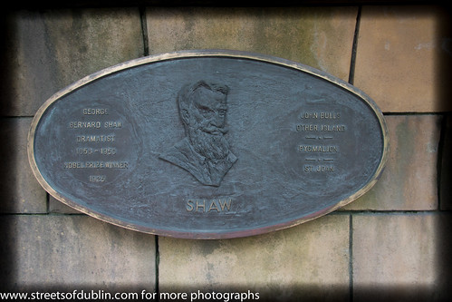 George Bernard Shaw - St Patrick's Park Literary Parade | by infomatique