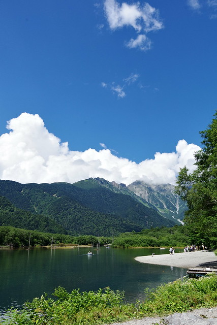 Taisho-ike pond Kamikochi 2016 summer 02