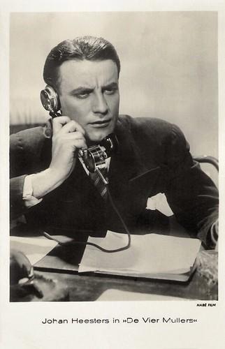 Johannes Heesters in De vier Mullers (1935)