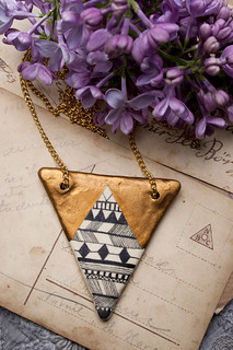Geometrical Pendant Necklace - I Love Geometry | by Harem6