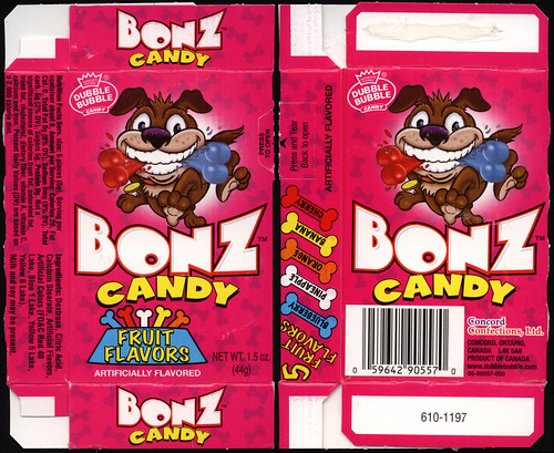 Concord Confections - Bonz Candy - candy box - mid-2000's | by JasonLiebig