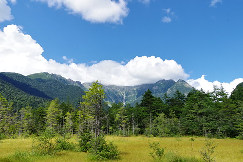 Hotaka Mountain Range Dake-sawa valley Kamikochi 2016 summer 26
