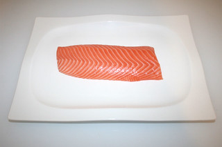 02 - Zutat Lachsfilet / Ingredient salmon filet