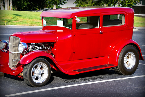 1928 A Model Ford Hot Rod in Red | by Photographybyjw